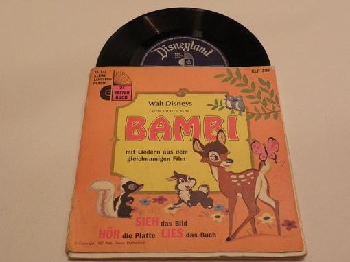 Schallplatte Märchen BRD Disney