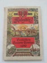 Bauern-Kalender 1930
