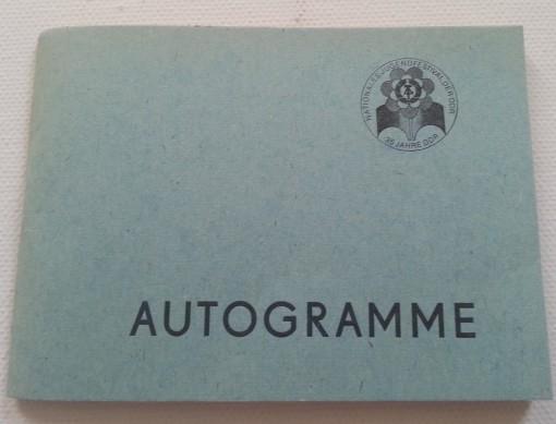 Jugendfestival Autogramme