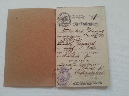 Dienstbotenbuch