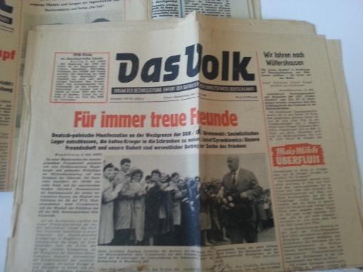 Tageszeitung Das Volk