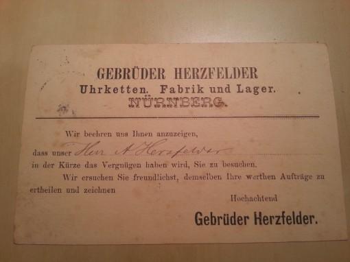 Bayern Besuchs Postkarte