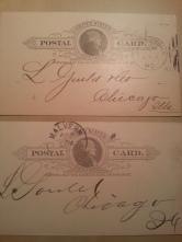 USA Postkarte 1893