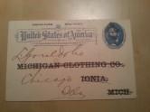 USA Postkarte 1895