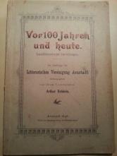 Litterarische Vereinigung Arnstadt 1896 Schönbrunn