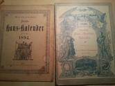 Haus-Kalender 1896 1894