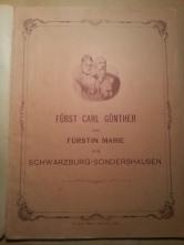 Haus-Kalender 1896 Fürstenpaar