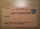Württemberg Postanweisung
