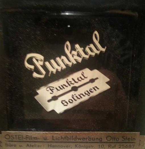 Kinodia 1958 Rasierklingen BRD