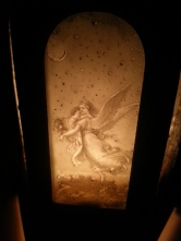 Kirchenlaterne Alabaster