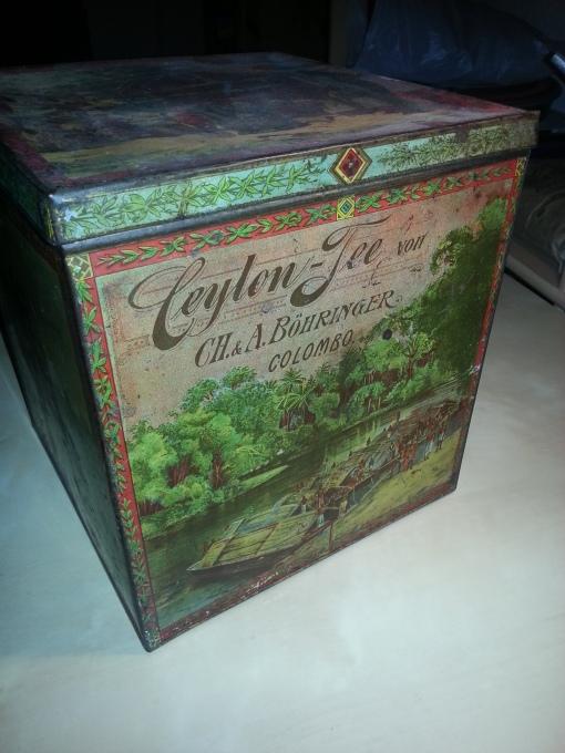 Böhringer Ceylon-Tee Dose klein