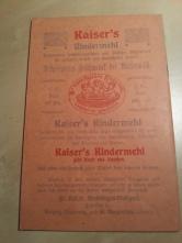 Die Pflege des Säuglings - Der Mutter gewidmet - 1910 - Kaiser's Kindermehl