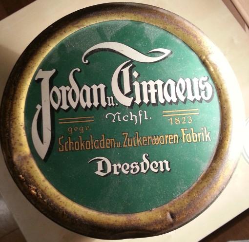 Jordan u. Timaeus Schokolade Dose