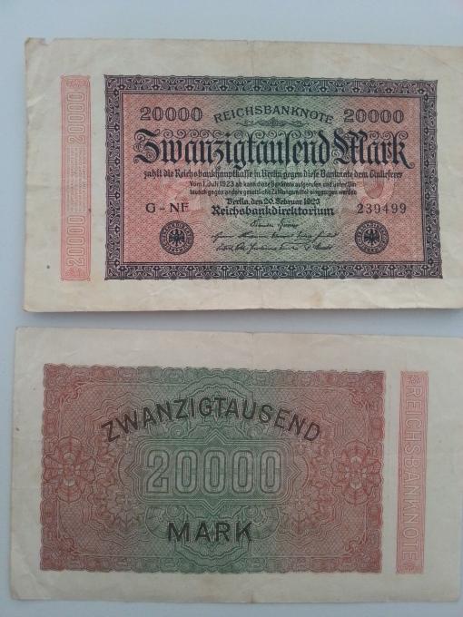 Inflation 20Tsd 19230220