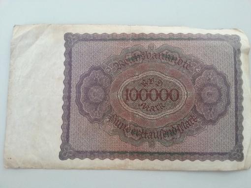 Inflation 100Tsd 19230201