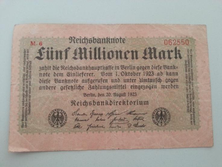 Inflation 5Mio 19230820