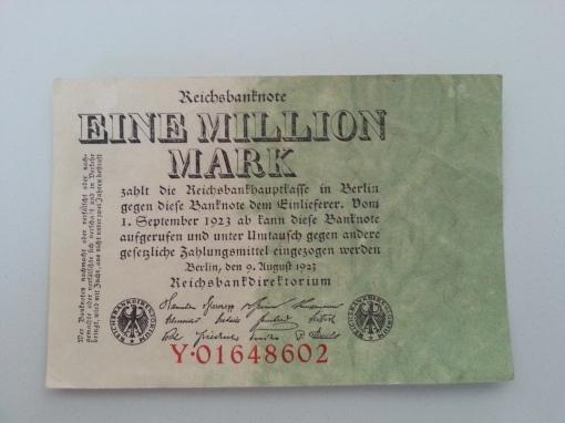 Inflation 1Mio 19230809