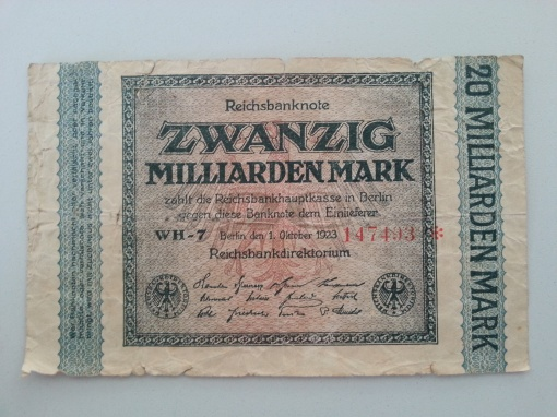 Inflation 20Mrd 19231001