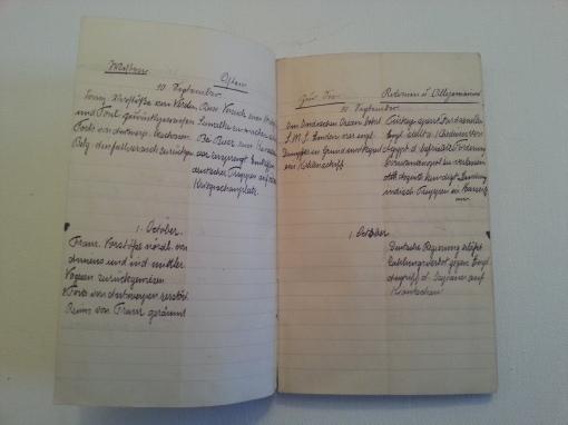Kriegstagebuch 10. Sep 1914
