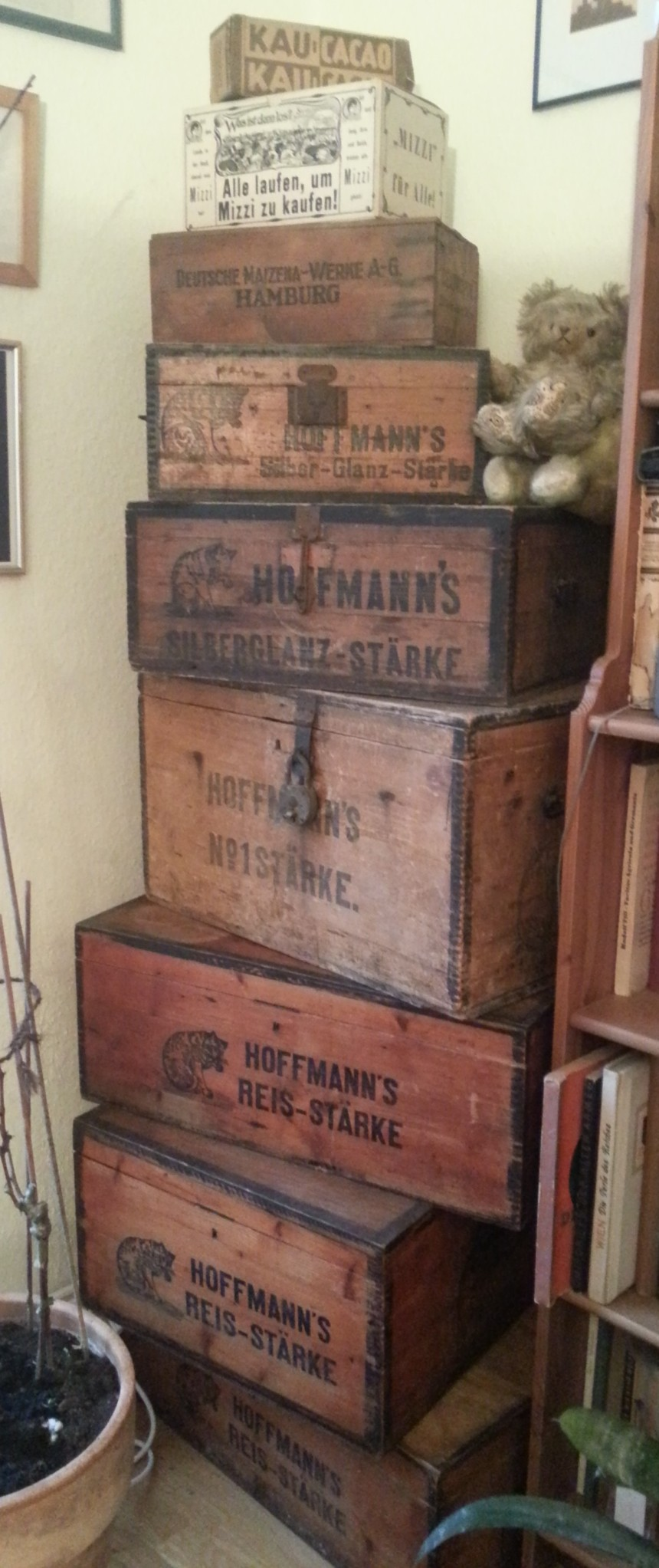 Versandkisten aus Holz, Hoffmann's Stärke