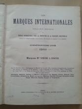 Trademark-Verzeichnis 1940