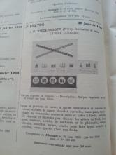 Trademark-Verzeichnis 1940 Niederegger Marzipan