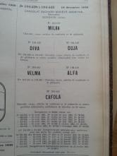 Trademark-Verzeichnis 1940 Milka