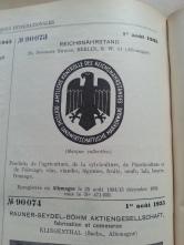 Trademark-Verzeichnis 1935 Reichsnährstand