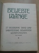 Notenbuch Beliebte Klänge