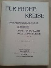 Notenbuch Für Frohe Kreise