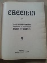 Notenbuch Caecilia