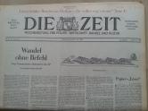 Tageszeitung Die Zeit 26.7.1968
