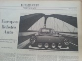 Tageszeitung Wiener Zeitung 26.7.1968