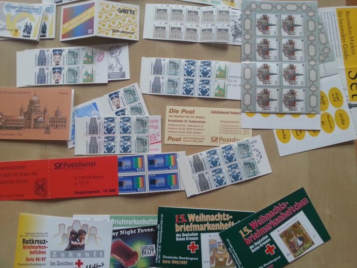 Deutsche Post Markenheftchen