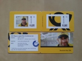 Deutsche Post Entschuldigungs-Briefmarken