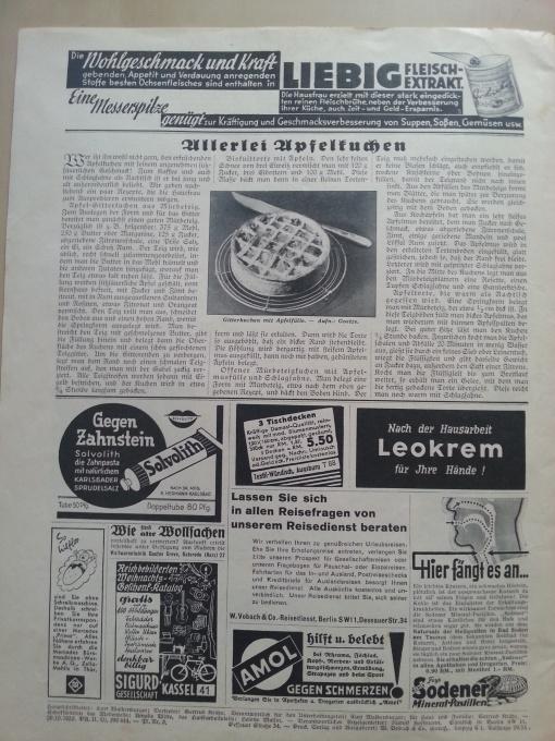Zeitschrift Mein Blatt