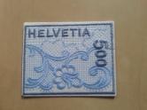 Briefmarke Stoff Schweiz