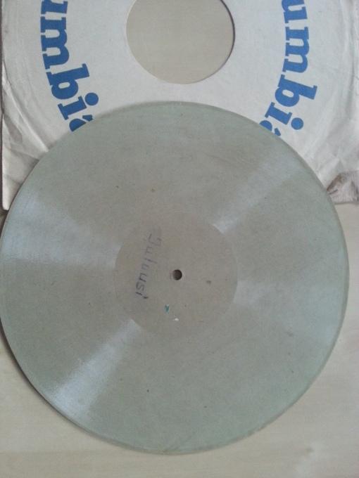 Papp-Schallplatte