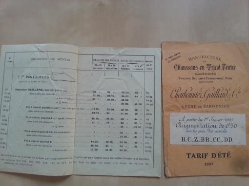 Paris Schuhkatalog 1905 1907
