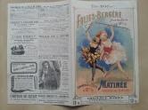 Paris Programm Folies Bergere