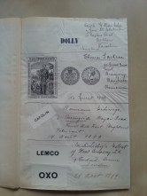 Patentbuch Trademark 1899 Lemco Oxo Liebig