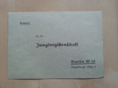 Jungdrogistenschaft Brief