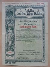 Schuldverschreibung 100 Mark 1917