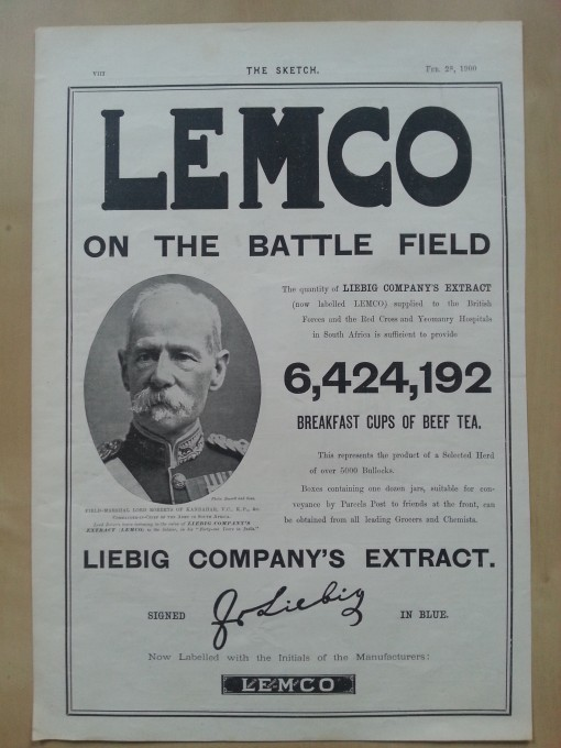Liebig Lemco Battlefield
