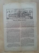 Zeitung Der Wirtschafstfreund