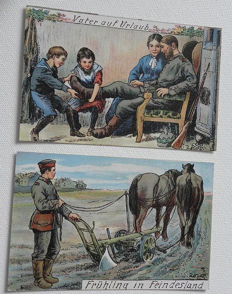 Postkarte 1. Weltkrieg