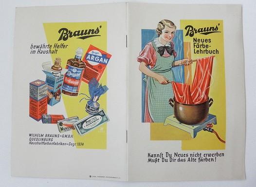 Brauns Färbe-Lehrbuch