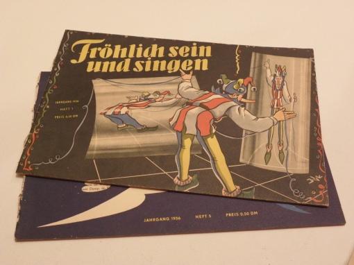 FröSi Heft 1 und 5 1956