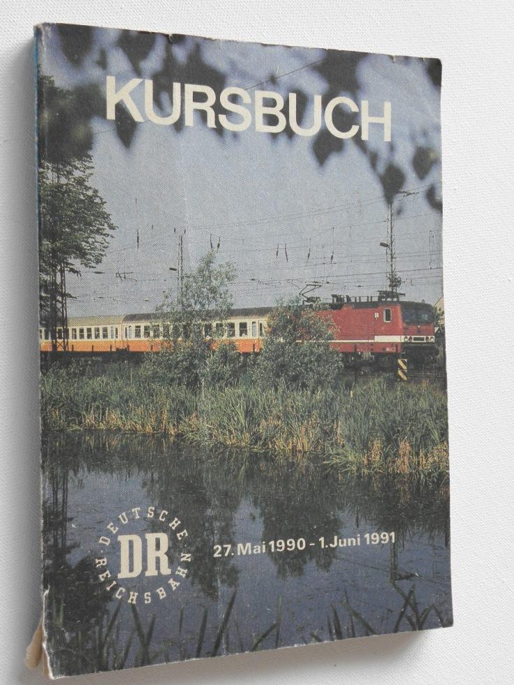 Kursbuch Deutsche Reichsbahn 1990