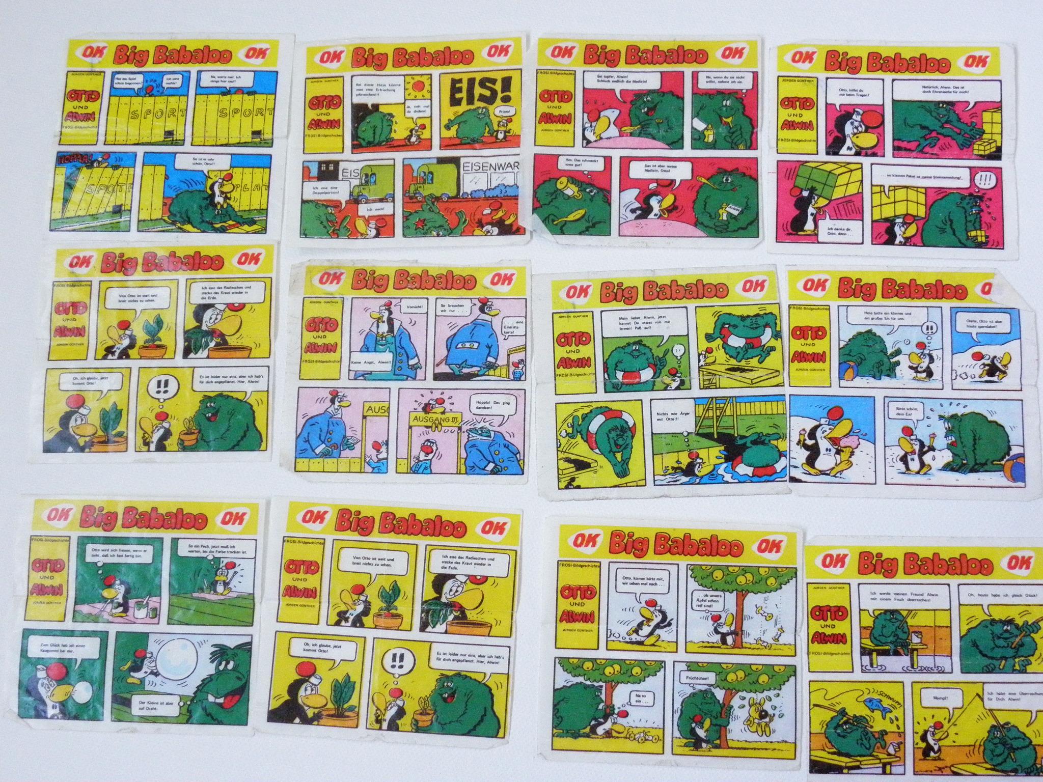 Kaugummibilder DDR